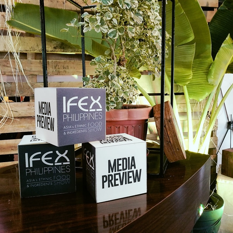 IFEX Philippines 2017 media conference