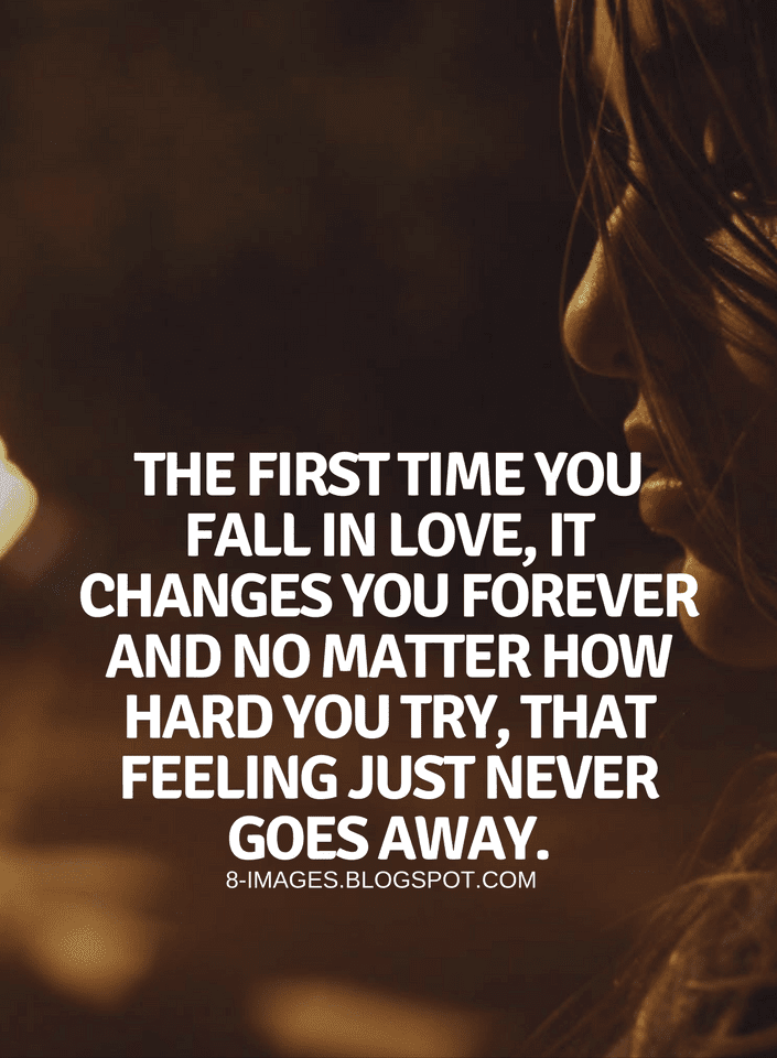 First love feeling quotes