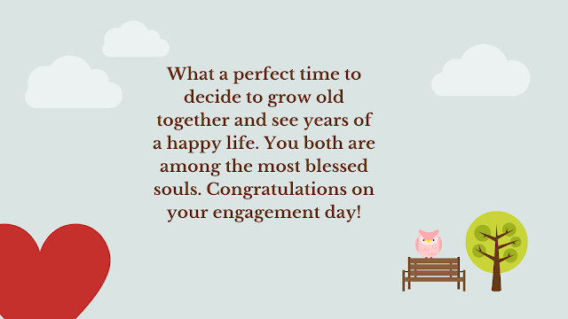 engagement wishes wordings
