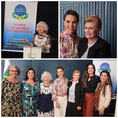 Mulher: Ama Brasilia  Apoiando a Cultura Literária