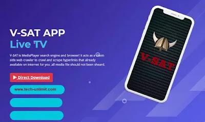 تحميل تطبيق v-sat لمشاهدة الافلام و القنوات و تحميل تطبيق v-sat apk 2021 آخر إصدار