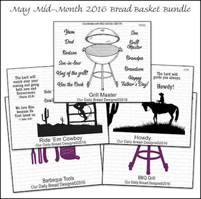 ODBD May Mid-Month 2016 Bread Basket Bundle