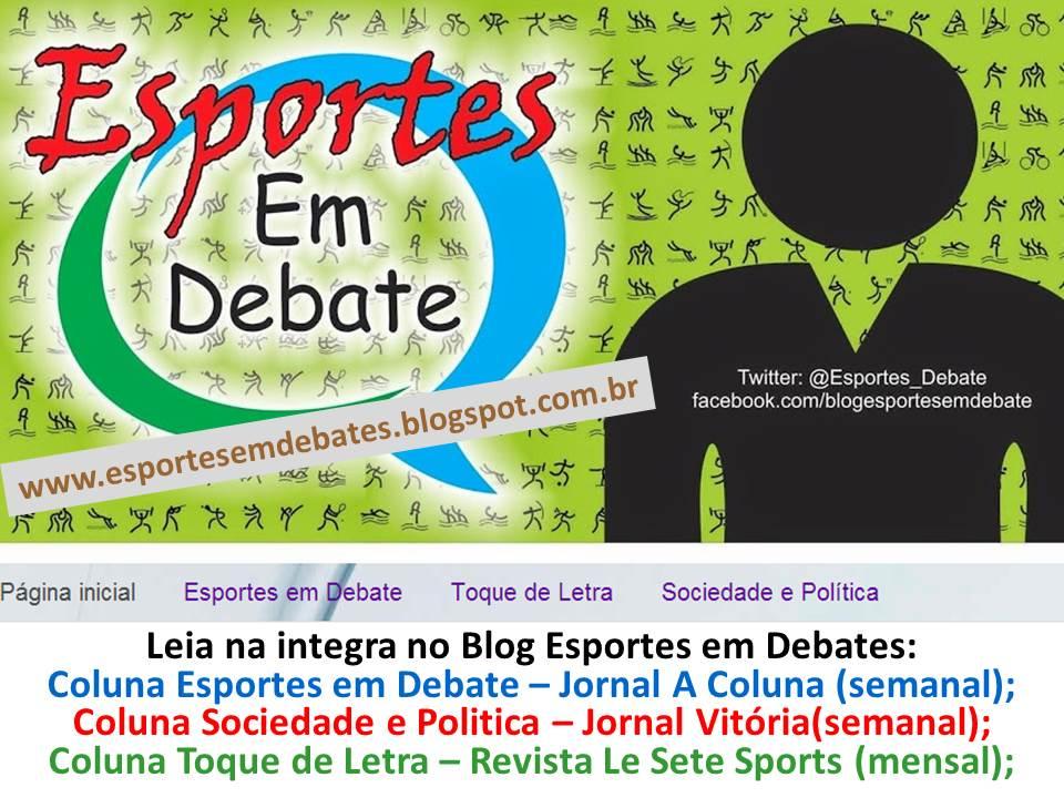 27348db70 Novidades no Blog Esportes em Debates