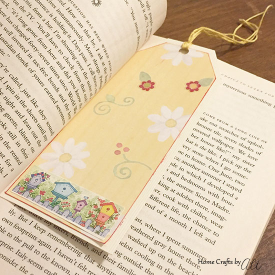 quick and cute diy bookmark