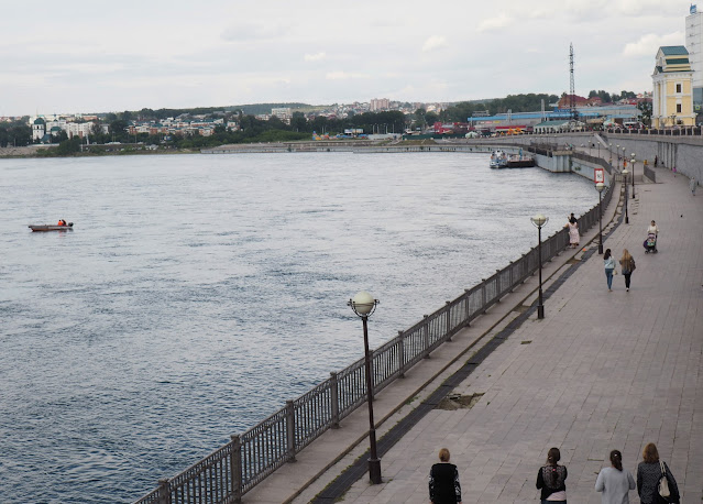 Иркутск, Нижняя набережная