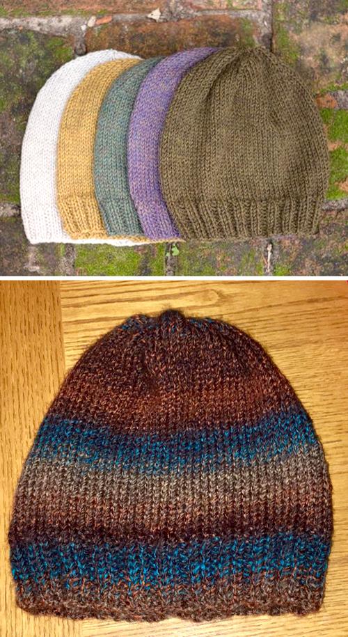 Classic Knit Hat - Free Pattern