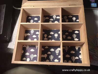 Wooden Embellishment Gift Box, Stampin' Up!