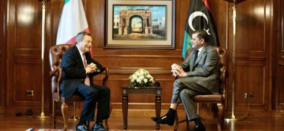 Visita in Libia del Premier Draghi [VIDEO]