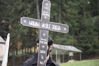 Inmormantarea Monahului Vasile Jurja, Manastirea Nicula