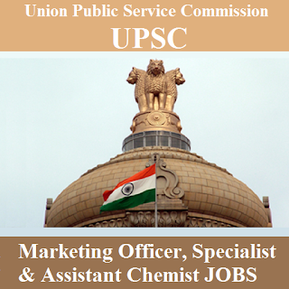 Union Public Service Commission, UPSC, Marketing Officer, Post Graduation, freejobalert, Sarkari Naukri, Latest Jobs, upsc logo