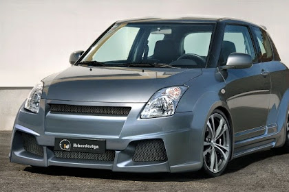 10 Foto Modifikasi Mobil Suzuki Swift