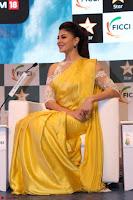 Gorgeous Jacqueline Fernandez  in yellow saree 46.JPG