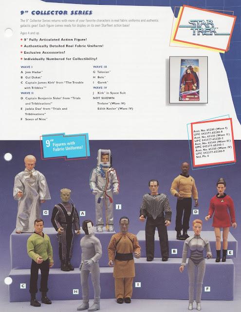 """Star Trek 9"""" Figures"""