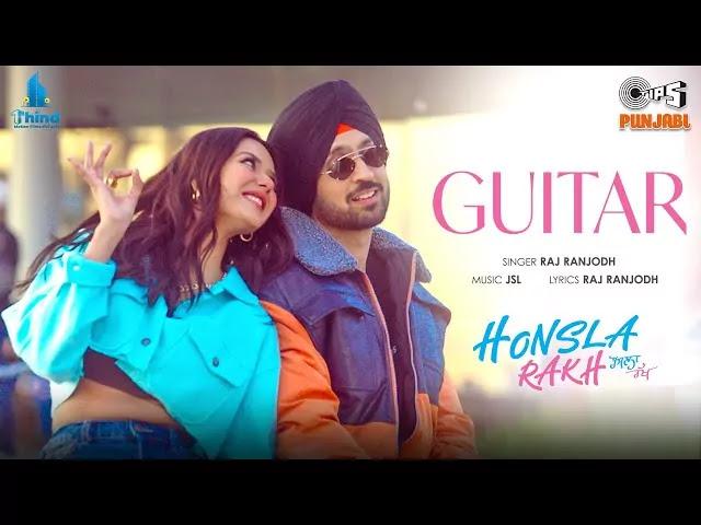 Guitar-Lyrics-Diljit-Dosanjh,-Shehnaaz-Gill