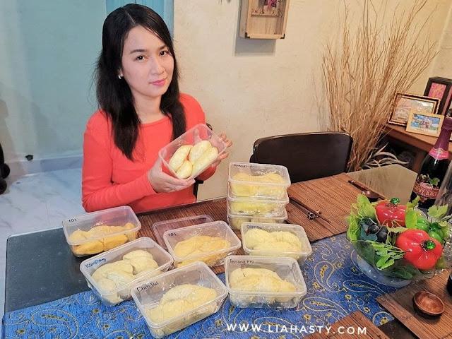 Jom beli & makan durian di Balik Pulau Duri Durian