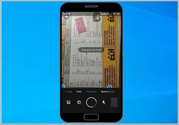 Adobe Scan : Μετατρέψτε τo κινητό σας  σε  φορητό σαρωτή