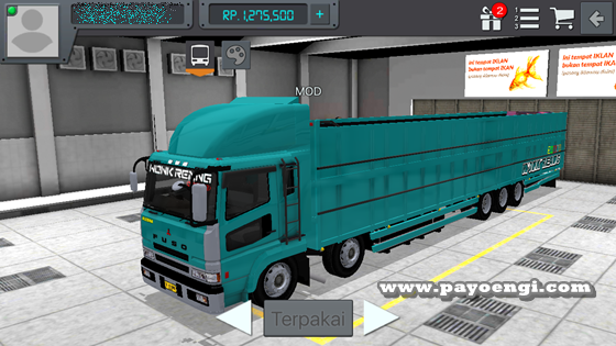 livery mod fuso sg tribal wsp wr truck 2