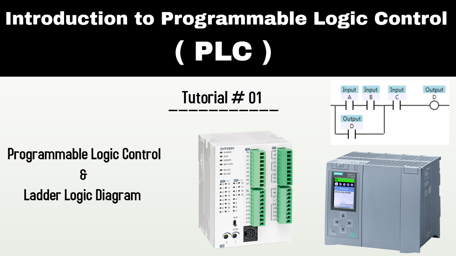 complete plc programming tutorials ladder logic diagrams with video tutorials [ 1600 x 900 Pixel ]