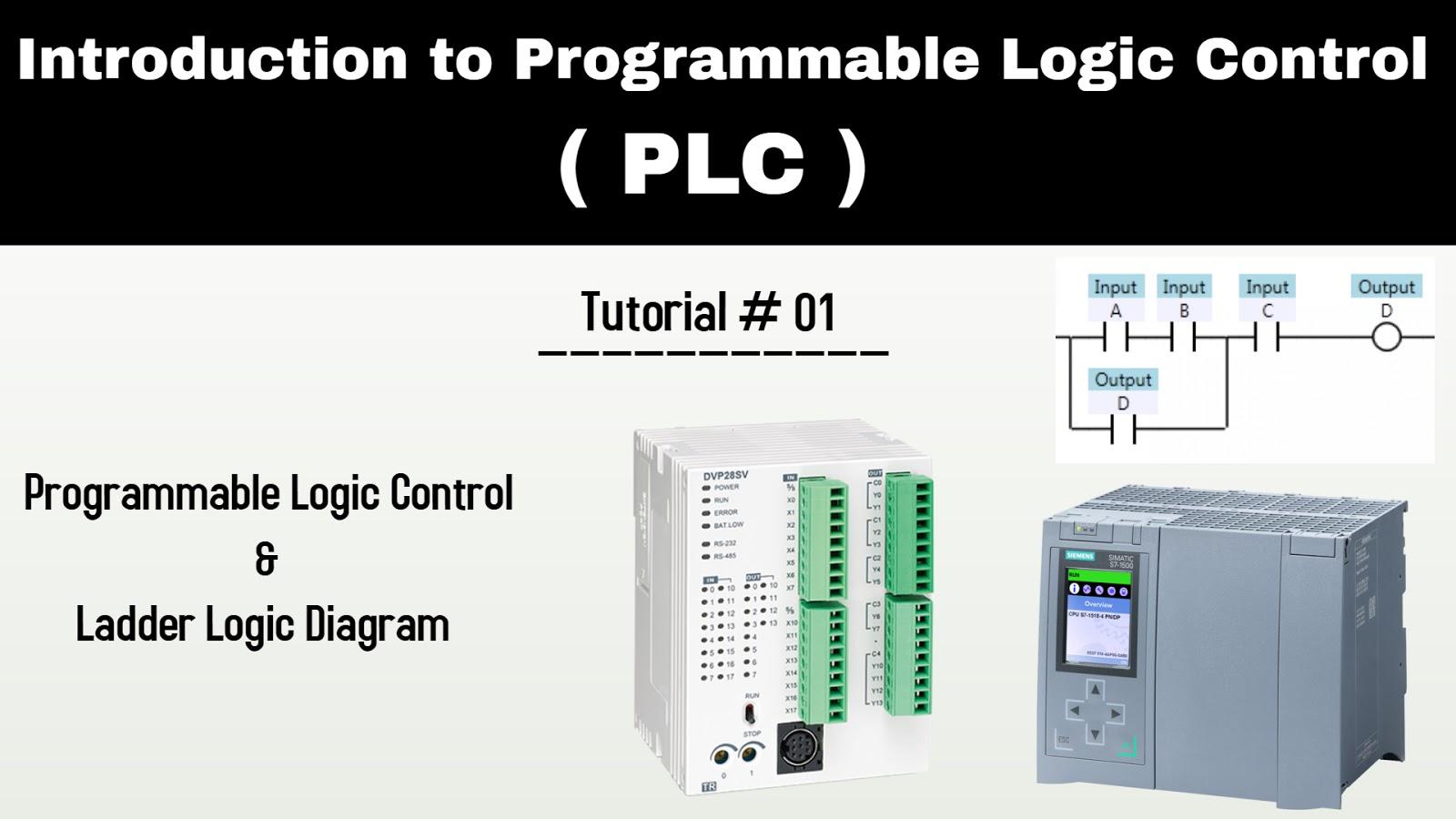 complete plc programming tutorials ladder logic diagrams with video tutorials [ 1600 x 900 Pixel ]