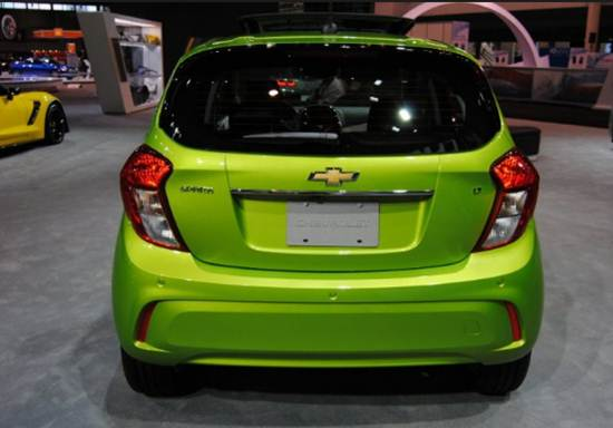 2016 Chevrolet (Chevy) Spark Back Side