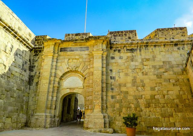 Couvre Porte, acesso a La Vittoriosa, Malta