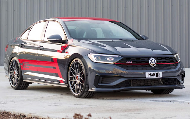 Volkswagen Jetta GLi rebaixado para o SEMA 2019