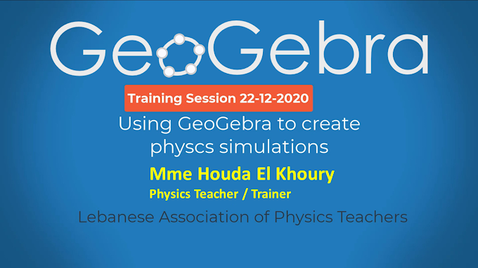 Using GeoGebra to create Physics Simulations