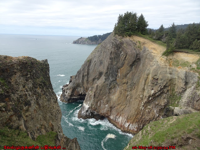Devils Cauldron cliff-backed cove