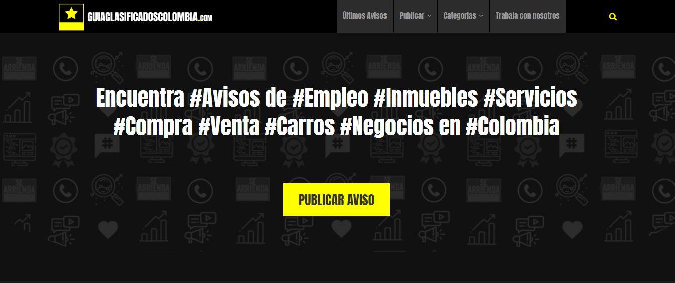anuncios y avisos clasificados en Colombia