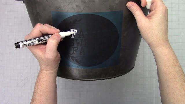 stencils, chalk markers, transfer tape, Oramask 813, chalkboard stencil