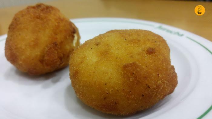 Croquetas de huevo la Jurucha Madrid