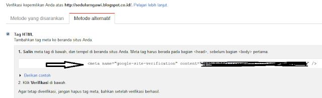 cara mendaftar blog ke google webmaster tool