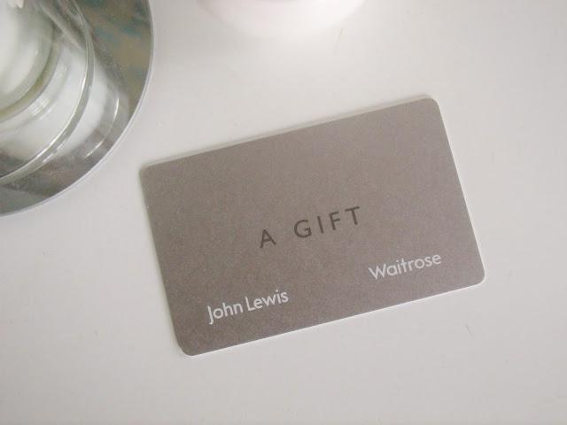 £100 John Lewis gift card