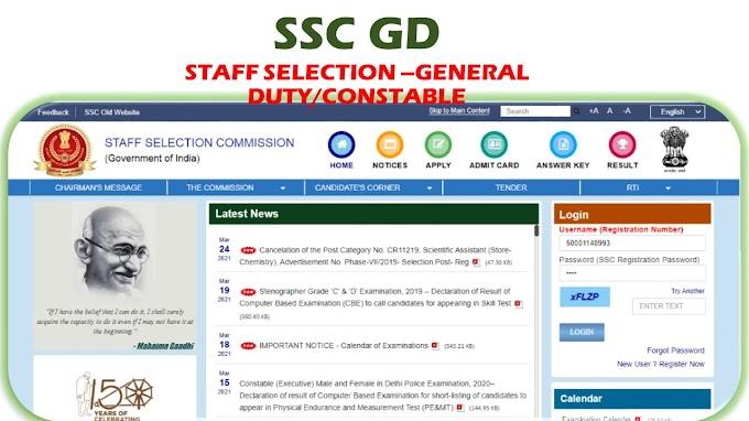 SSC GD
