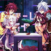 No Game No Life Zero Sora, Shiro & Riku, Shuvi [Live Wallpaper Engine]