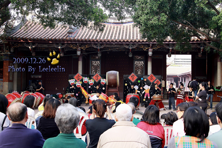 孔廟園區|台南鼓動撼雙十|十鼓文化村十鼓二團表演