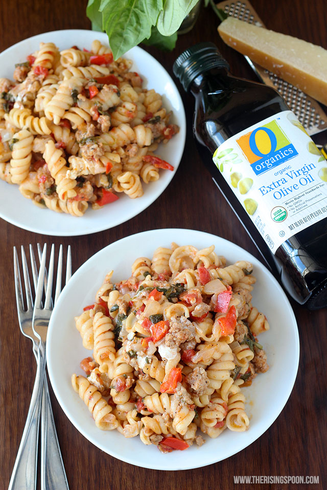 Easy One-Pot Pasta with Italian Sausage