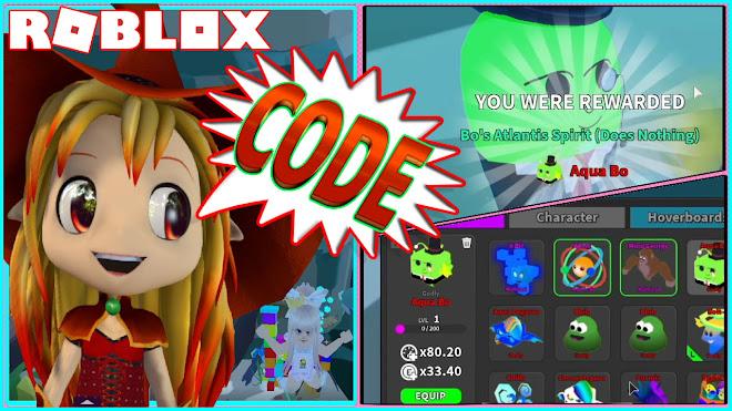 ROBLOX Ghost Simulator! NEW CODE! Getting the GODLY AQUA BO PET