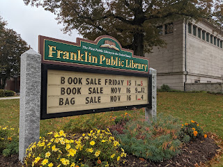 November 2019 Franklin Public Library News & Events for Adults