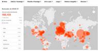 Mapa mundi da Microsoft