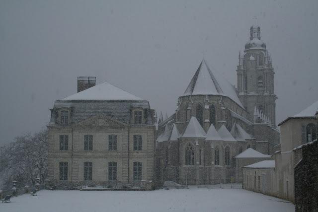 Chutes de neige à l'Evêché (fin novembre 2010)