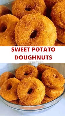 These easy fried sweet potato donuts are as tasty as they are easy to make. Plus it only takes 35 minutes to prepare them and fry them. The time still remains the same whether you are frying or baking them