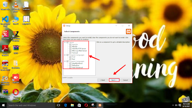 How to download xampp for windows