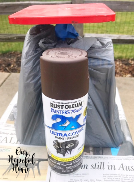 Rustoleum Painters Touch 2x Spray Paint Can Espresso