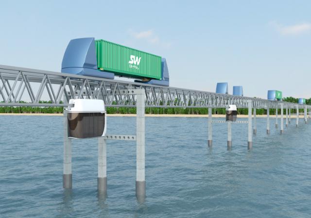 Skyway van chuyen container