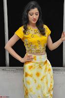Richa Panai in Yellow Slim Fit Crop top ~ CelebxNext 011.JPG