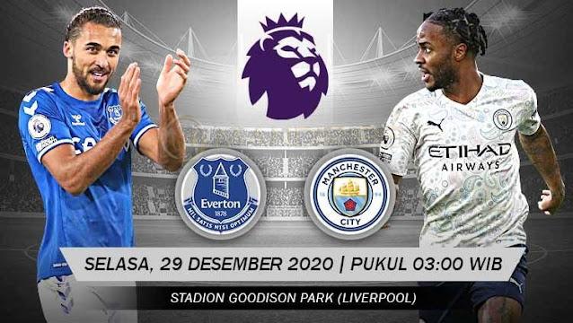 Prediksi Everton Vs Manchester City, Selasa 29 Desember 2020 Pukul 03.00 WIB @ Mola TV