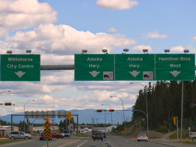 Arriving in Whitehorse