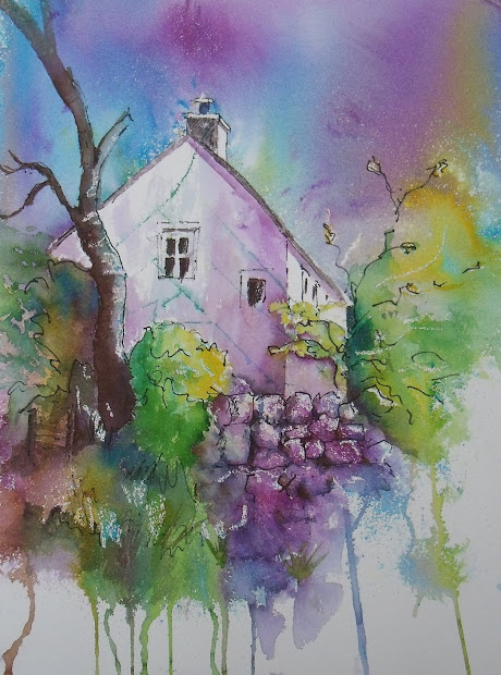 Art Judith Farnworth Brusho Paintings
