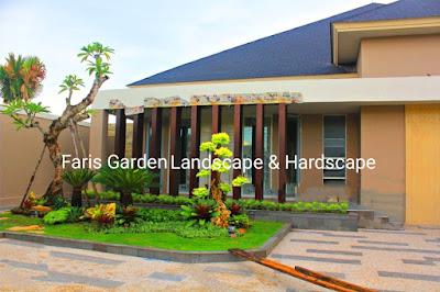 Tukang Taman Surabaya - Jasa Pembuatan Taman Rumah di Surabaya